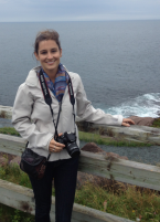 Katie Laferriere at Canadian Association of Geographers conference